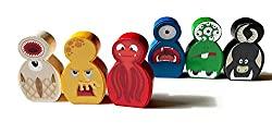 Monster Brettspiel Figuren